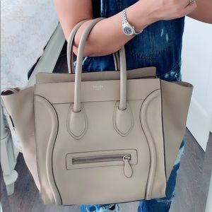 Celine mini luggage Tote 👜 💯% Authentic